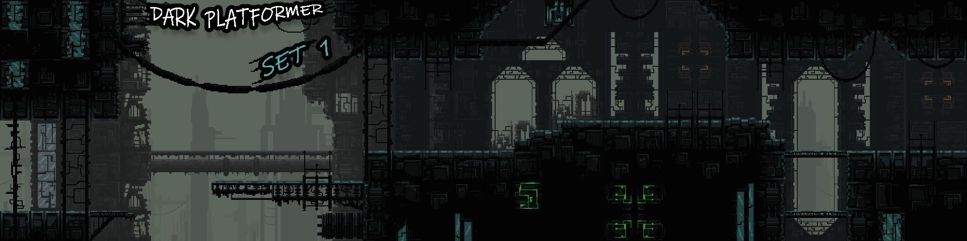 Dark Platformer Set1