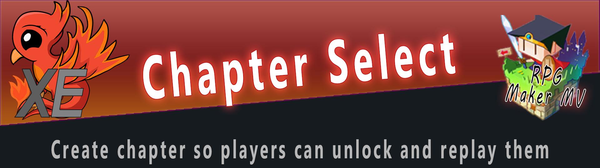 Chapter Select X For RPG Maker MV