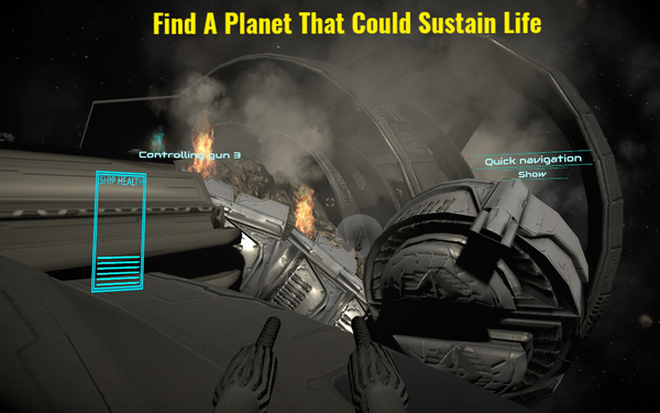 Find a planet that can sustain life