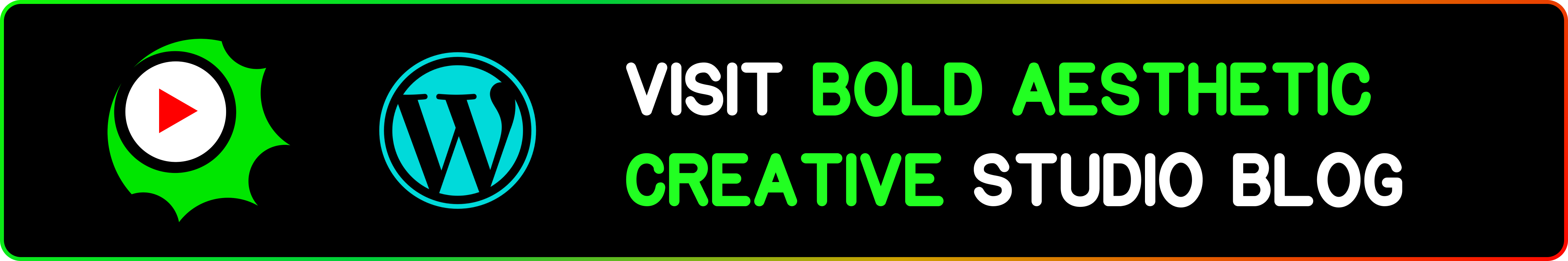 Bold Aesthetic Creative Studio Blog