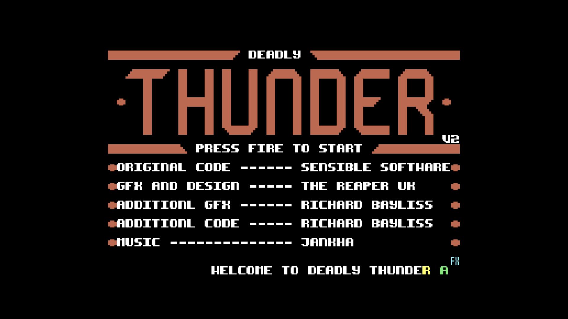 Deadly Thunder (C64)