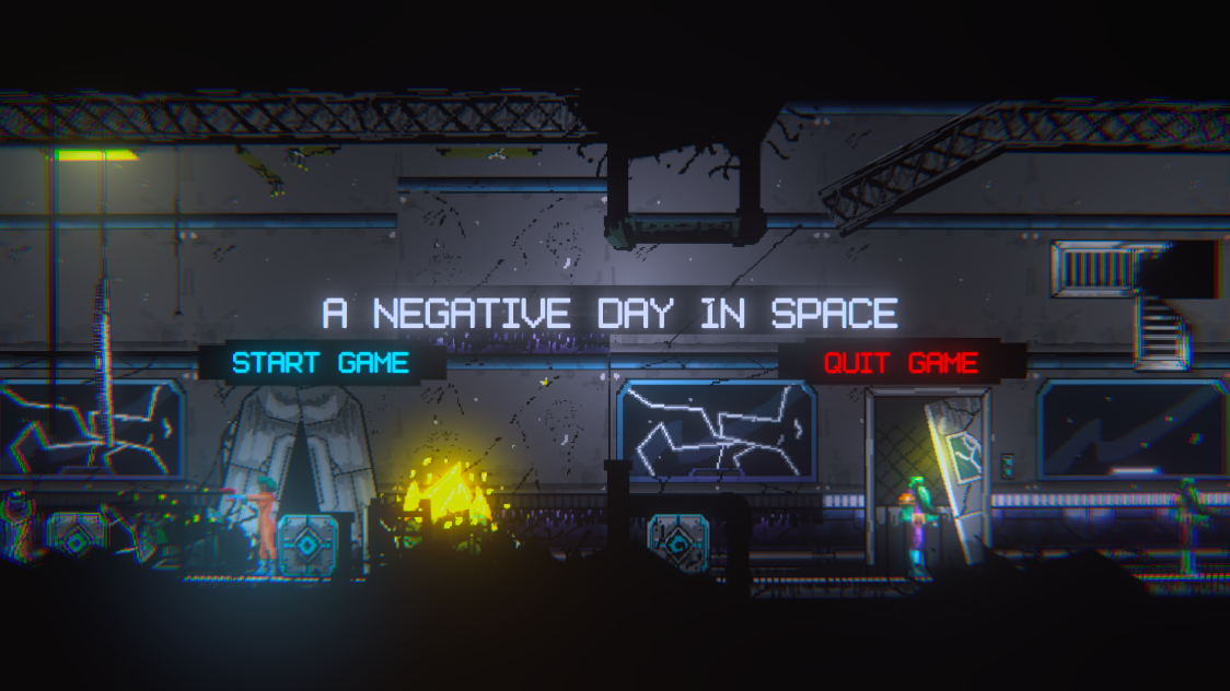 A Negative Day in Space