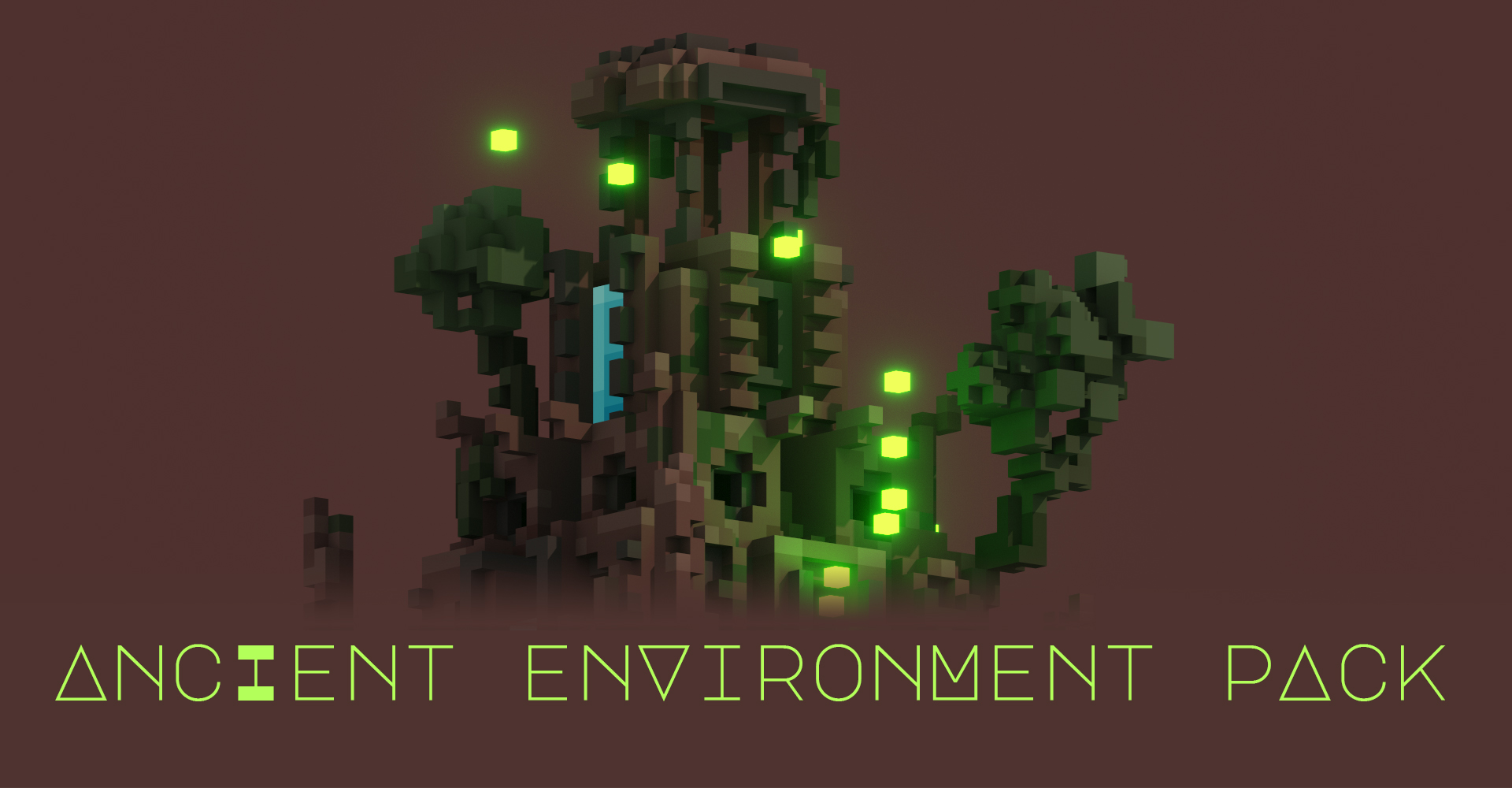 Voxel Ancient Environment pack for free