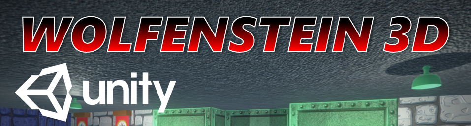 Wolfenstein 3D FPS Game Unity Project Source Code