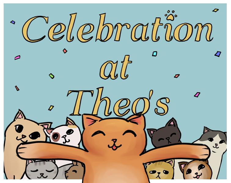 Celebration at Theo's