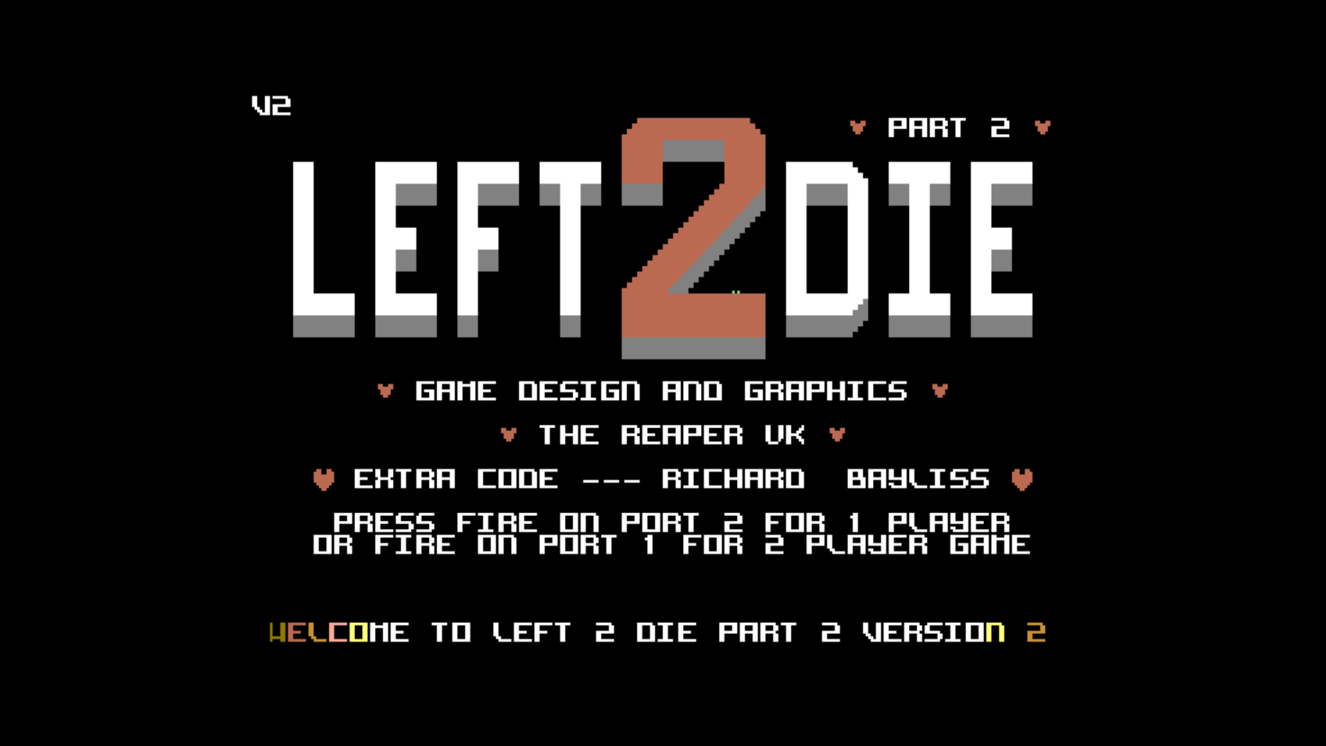 Left 2 Die Part 2 (C64)