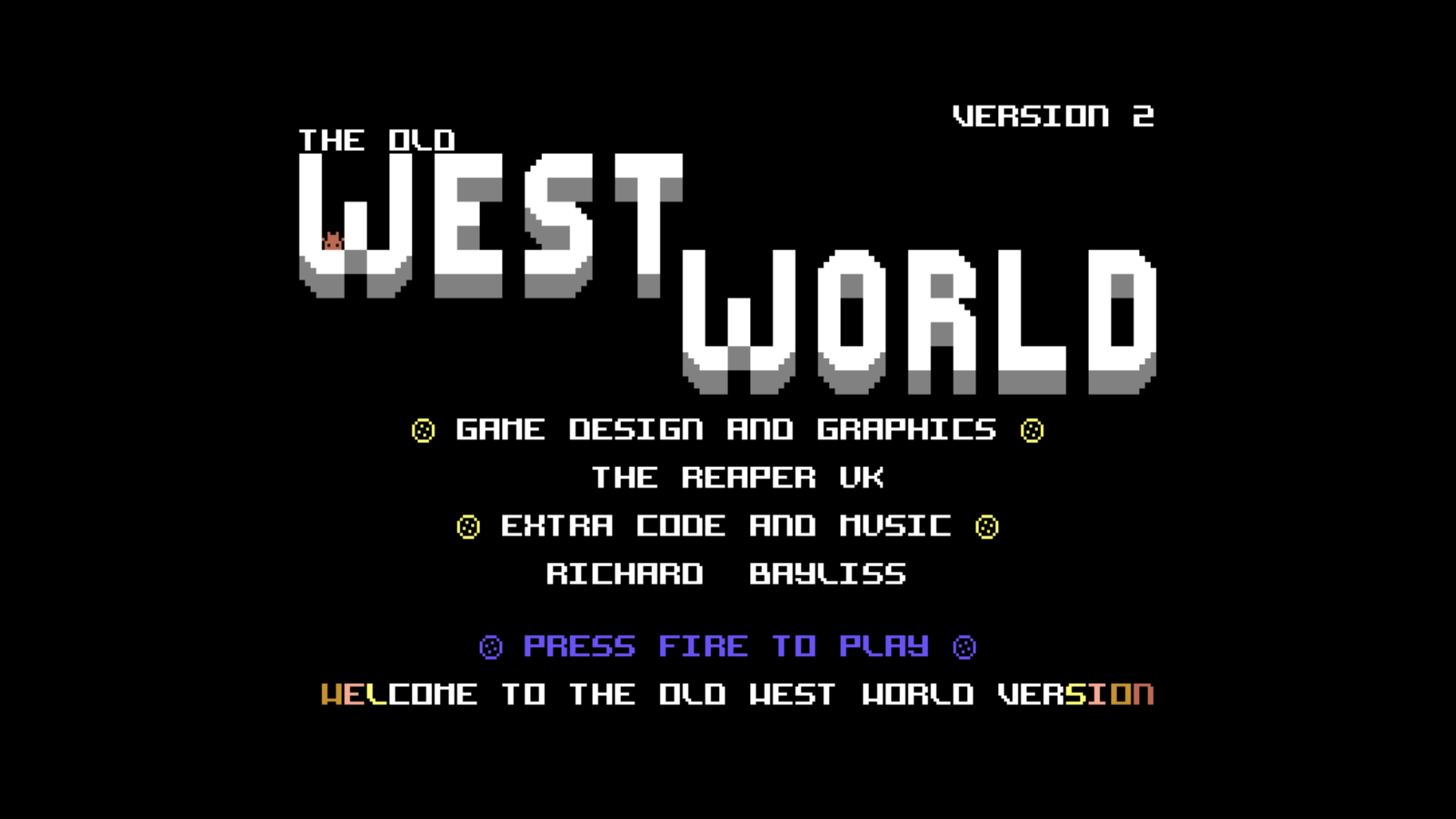 The Old West World (C64)