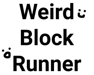 Weird Block Runner