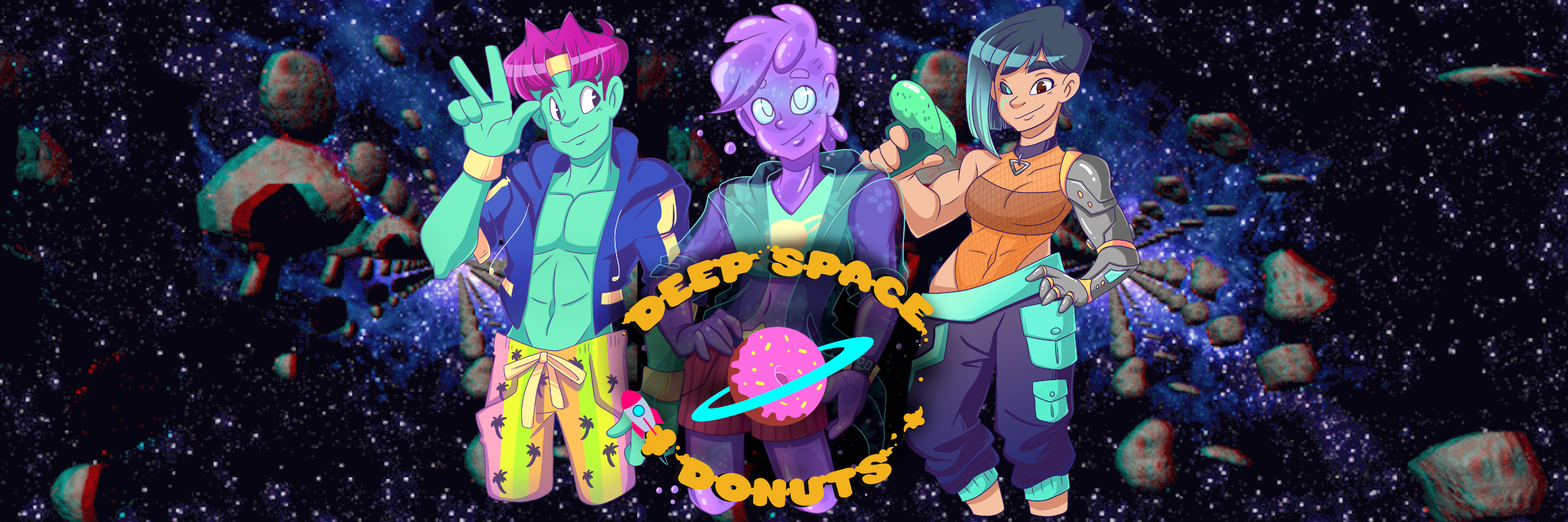 Deep Space Donuts