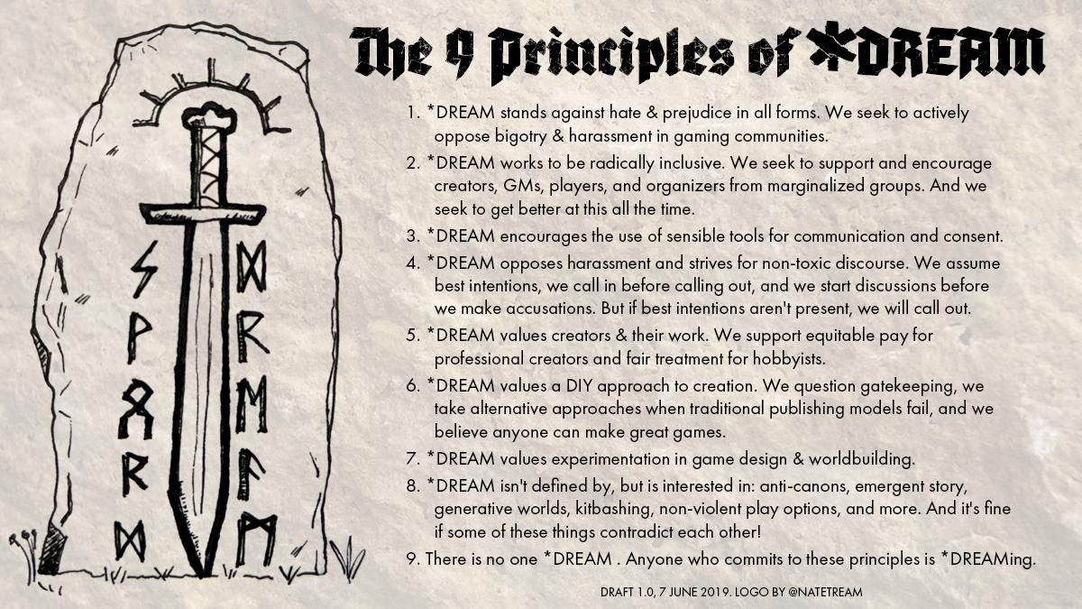 The Nine Principles of SWORDDREAM