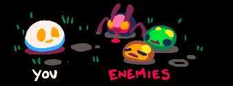 you vs enemies