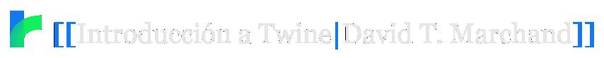 Introducción a Twine