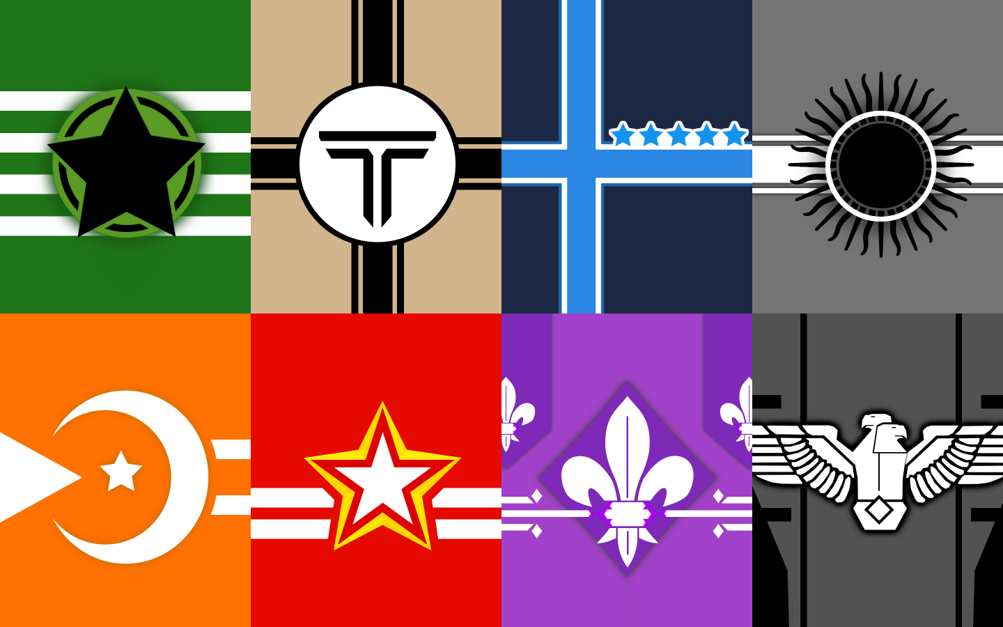 All Nations Flags Symbol/Icon