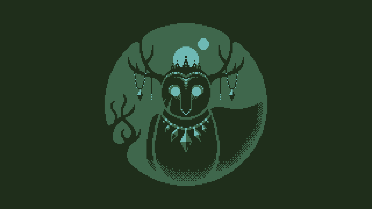 Owl forest spirit