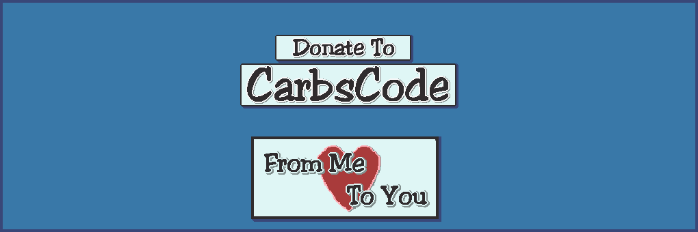 CarbsCode Donation