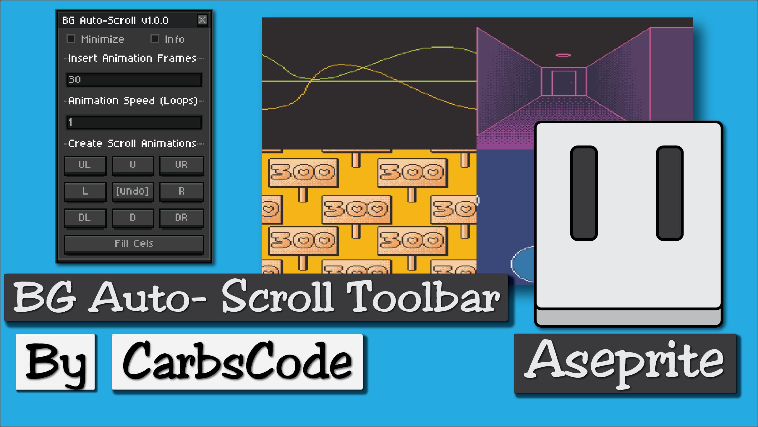 BG Auto-Scroll Toolbar