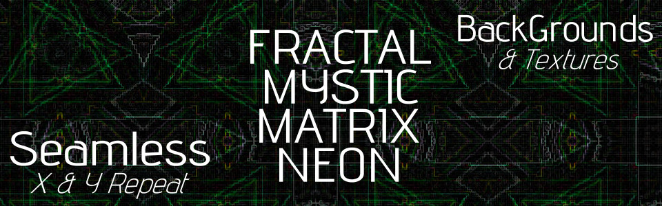 Fractal Backgrounds & Textures 2.0