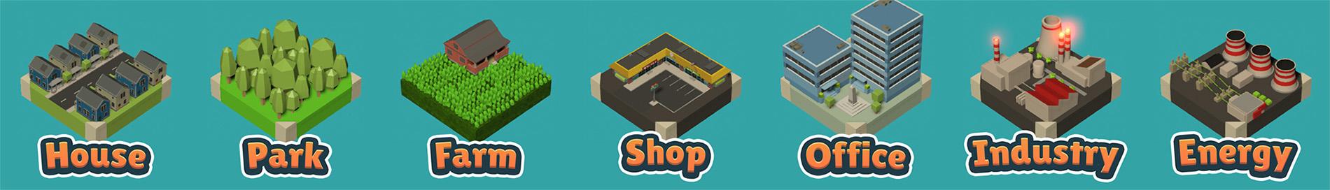City Builder, Puzzle Challenge!