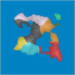A 250x250 pixel perfect world map, generated using this generator