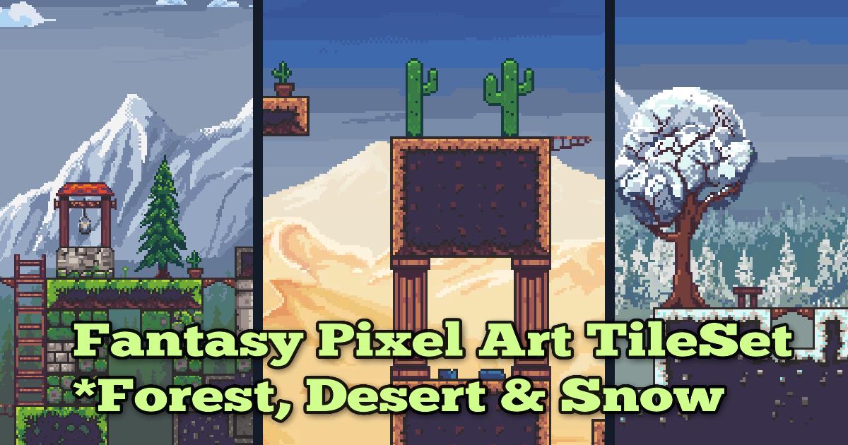 Fantastic Pixel Art Tileset