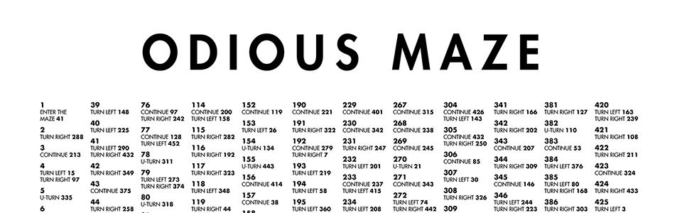 Odious Maze