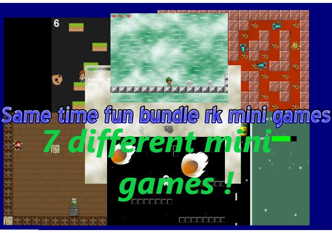 Same time fun bundle rk mini games (Bundle)