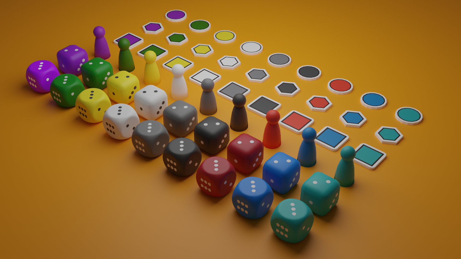 Board Game Assets