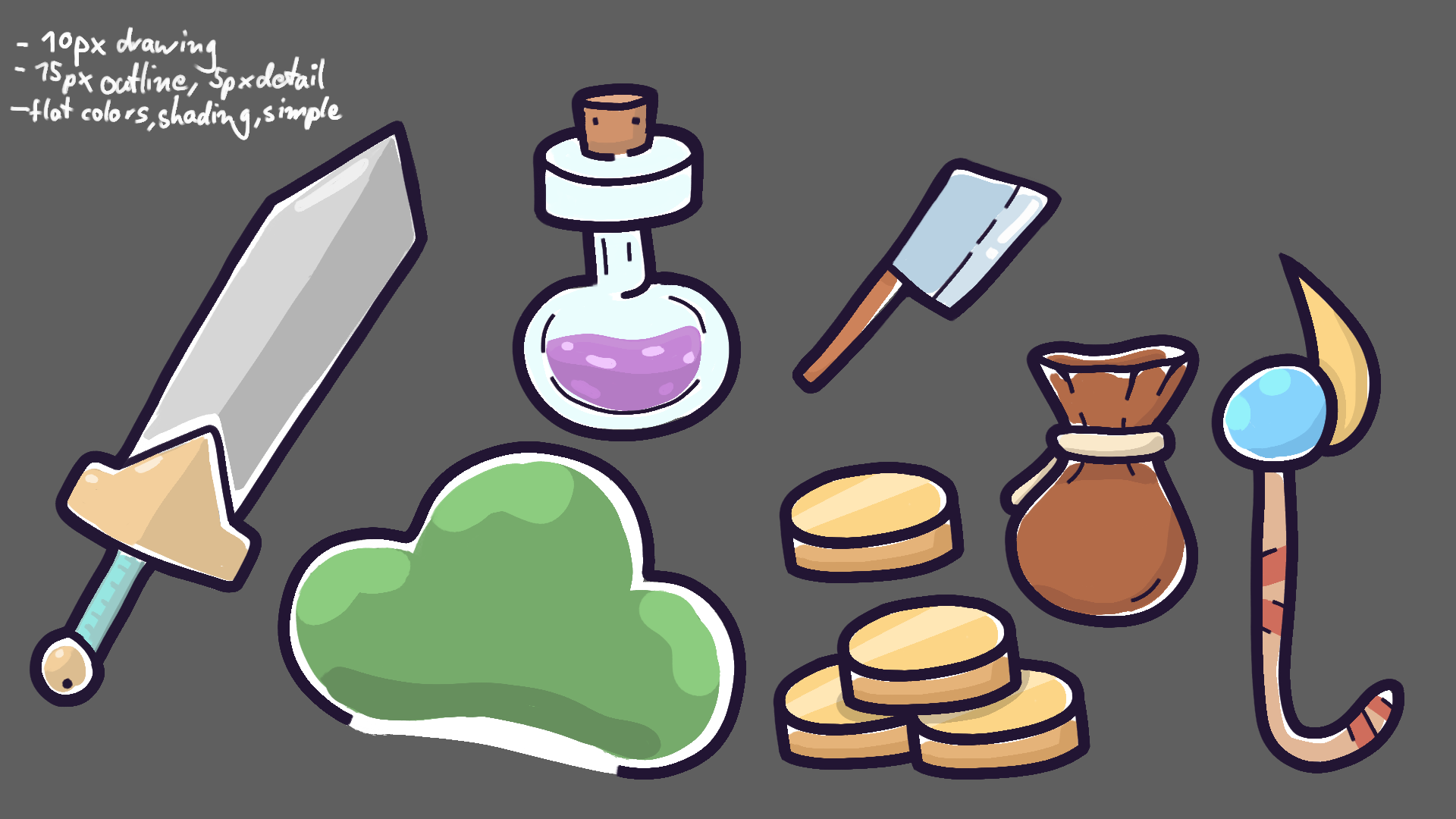 First Item Concepts