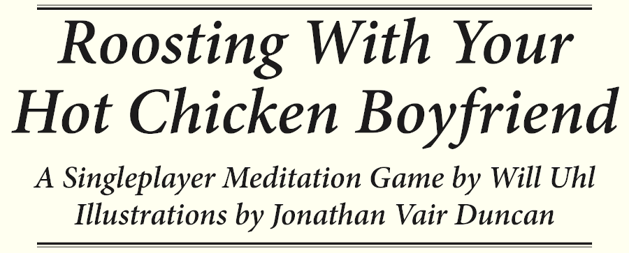 Roosting With Your Hot Chicken Boyfriend