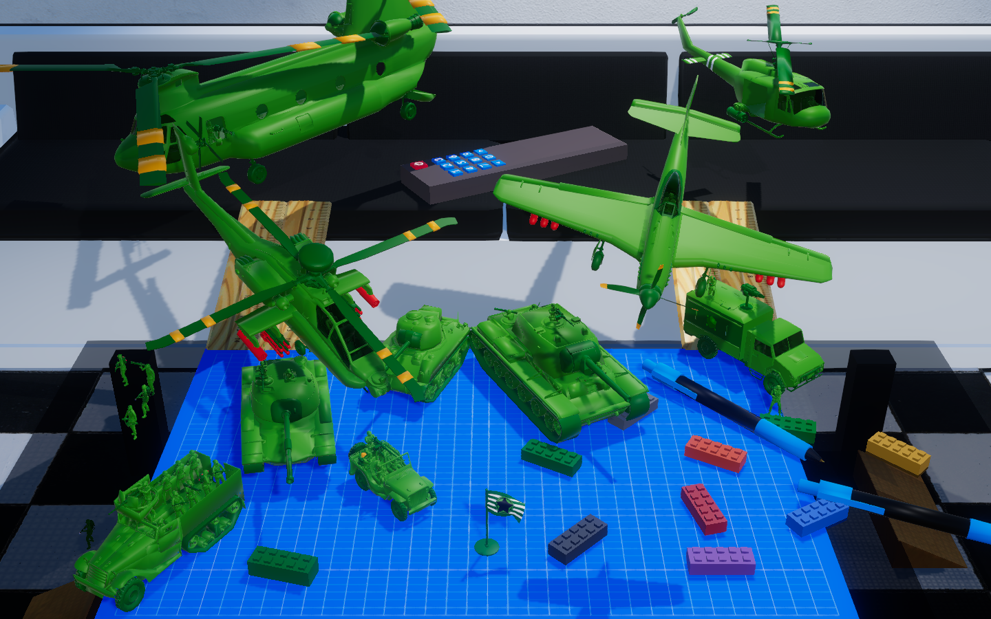 Devlog #14 AH-64 Apache, P-51 Mustang, and All Vehicles Are Now Driveable!