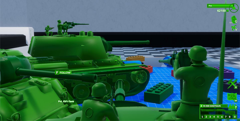 m48-Patton Tank Aim View