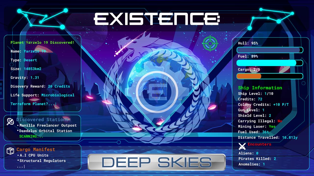 Existence: Deep Skies