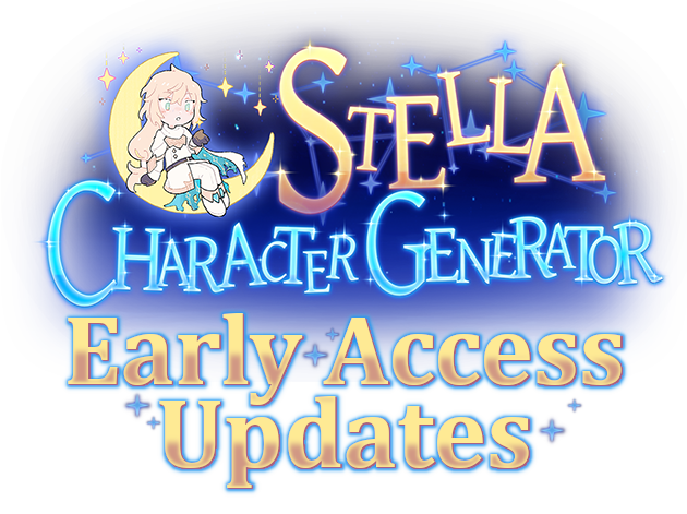 Stella Character Generator - Early Access Updates