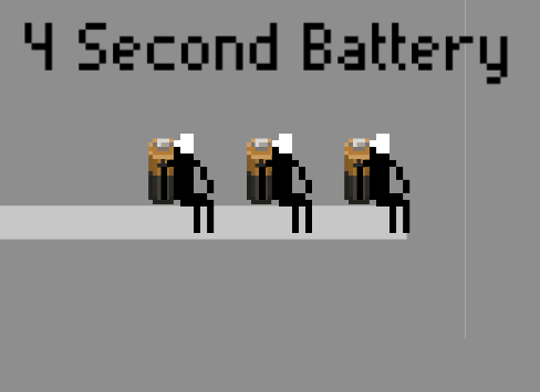 4 Second Battery