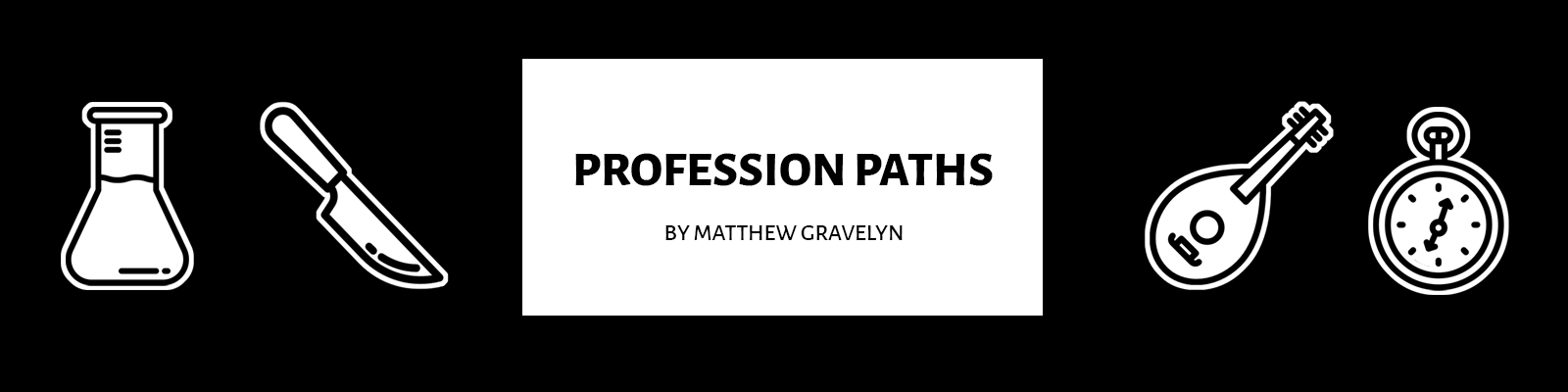 Profession Paths for Quest RPG