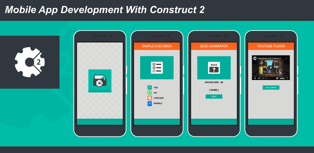 Construct 2 - Mobile App Templates