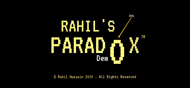 Rahil's Paradox DEMO