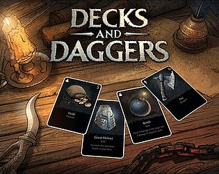 Decks & Daggers [Free] [Card Game] [Windows]
