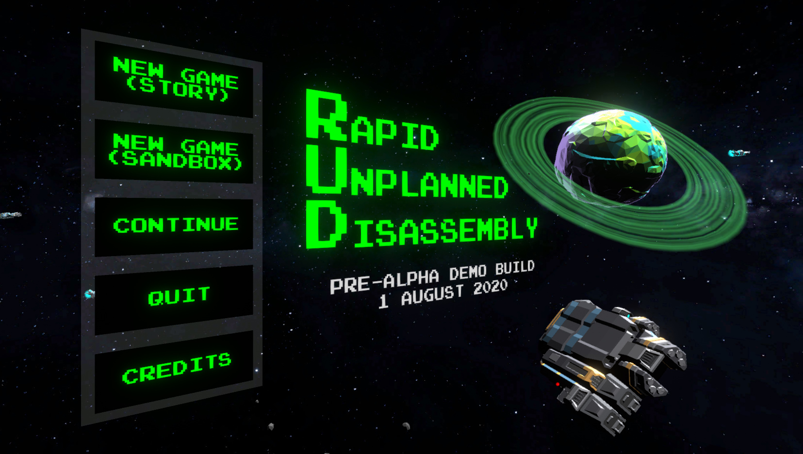 Rapid Unplanned Disassembly