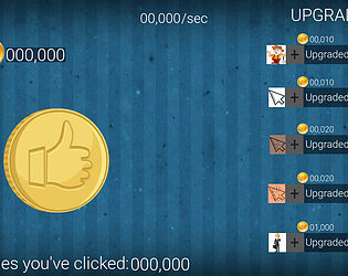 MoneyMaker - free clicker game