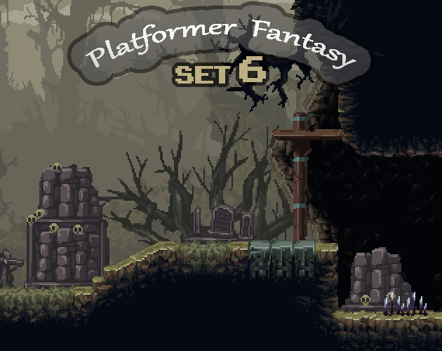 Platformer Fantasy SET6