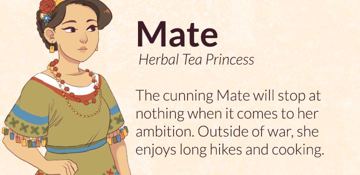 Mate, Herbal Tea Princess
