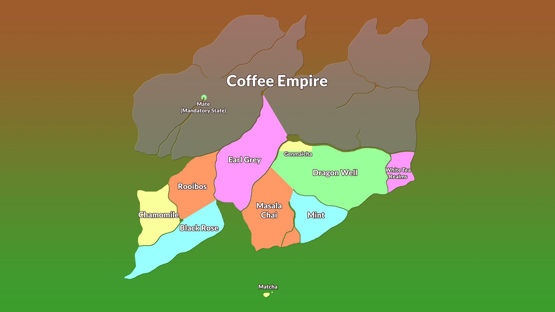 The world of Sovereign Tea