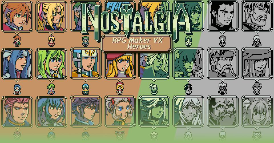 Ocean's Nostalgia - RPG Maker VX Heroes