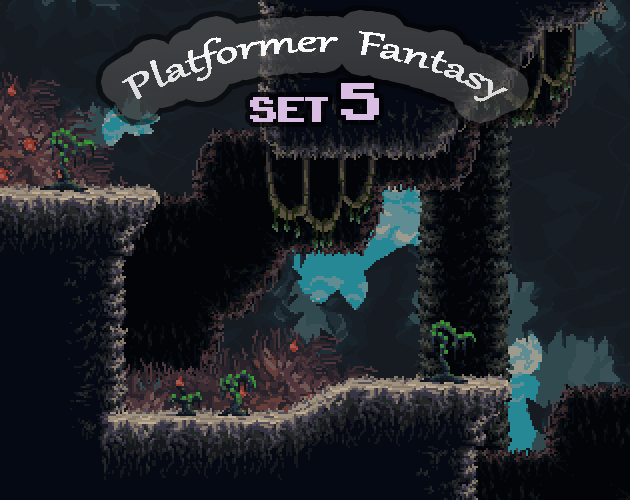 Platformer Fantasy SET5