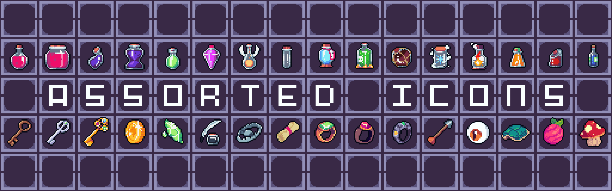 Assorted Icons [CC0 1.0]