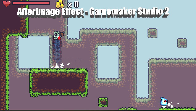 Afterimage effect - Game Maker Studio 2