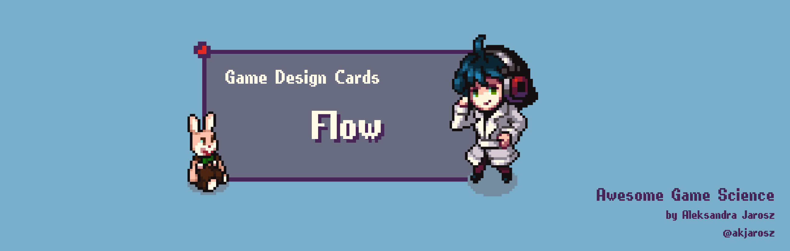 Awesome Game Science Cards - Flow