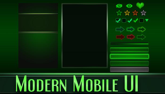 Modern Mobile UI