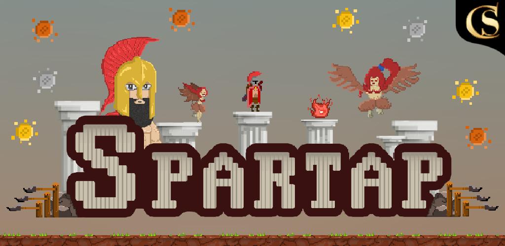 Spartap - Pixel Endless Runner